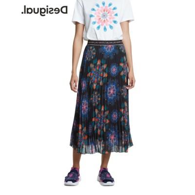 【デシグアル】 スカート DELOS レディース ブラック系 44 Desigual