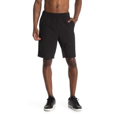 90ディグリー メンズ カジュアルパンツ ボトムス 4-Way Stretch Performance Shorts BLACK