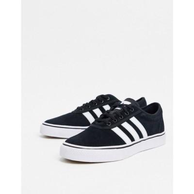 アディダス adidas Skateboarding メンズ スニーカー シューズ・靴 Adi-Ease trainers in black ブラック