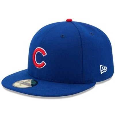 ニューエラ メンズ 帽子 アクセサリー Chicago Cubs New Era Authentic Collection On Field 59FIFTY Fitted Hat Royal