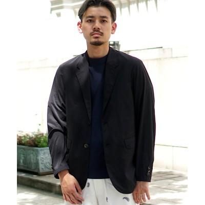 【ビームス アウトレット】 BEAMS / ナイロン ストレッチ 2Bジャケット メンズ ブラック M BEAMS OUTLET