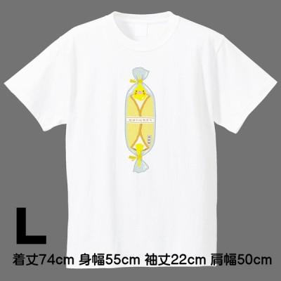 ロワテオ / Tシャツ 白 まるごとオカメ L オカメインコ / 237A0341  ( BIRDMORE バードモア 鳥用品 鳥グッズ 雑貨 鳥 とり プレゼント  )