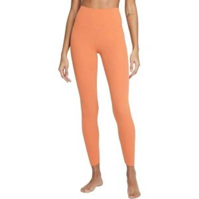 ナイキ レディース カジュアルパンツ ボトムス Nike Women's Yoga Luxe High Rise 7/8 Tights Healing Orange