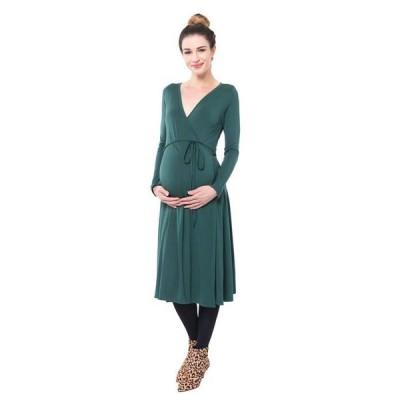 ノム レディース ワンピース トップス Tessa Maternity + Nursing Wrap Dress