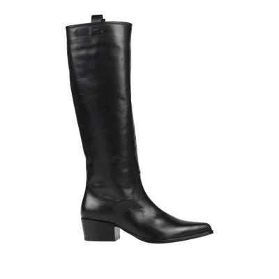 HAZY ブーツ ブラック 36 革 ブーツ