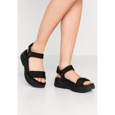 バガボンド サンダル レディース シューズ LORI - Platform sandals - black