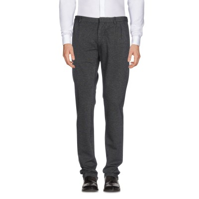 LIU •JO MAN パンツ 鉛色 54 レーヨン 68% / ナイロン 27% / ポリウレタン 5% パンツ
