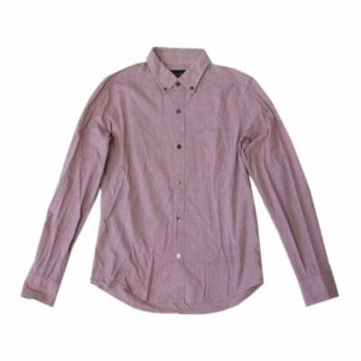 LOUNGE LIZARD ラウンジリザード ボタンダウンシャツ (ピンク カッターシャツ) 115388【中古】