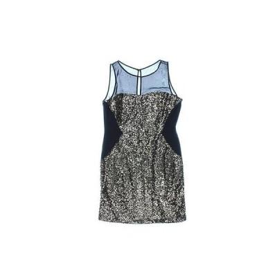 アクア ドレス ワンピース アクア 9292 レディース ブラック Sequined ノースリーブ Party Clubwear ドレス 2 BHFO