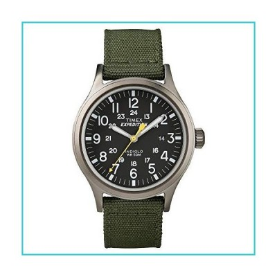 Timex T49961JT Men's Expedition Scout Watch with Nylon Strap - Gray/Black/Green【並行輸入品】