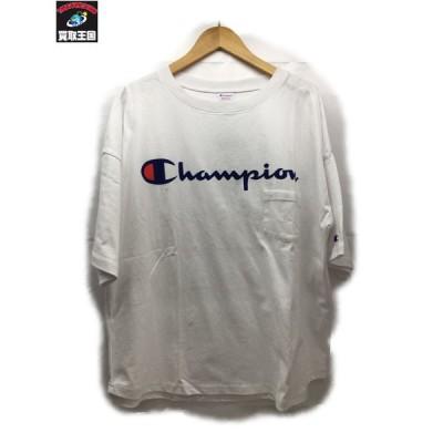 RCWB×Champion ロゴTシャツ L