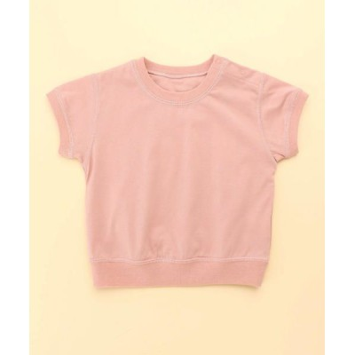 COMME CA FILLE/コムサ・フィユ ロゴTシャツ ピンク 80cm