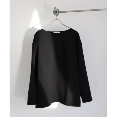 【ジャーナルスタンダード/JOURNAL STANDARD】 フレンチジャージー ボートネック オーバーサイズTシャツ