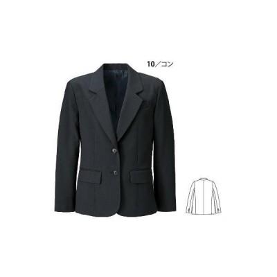 16018 レディスジャケット XEBEC ジーベック スーツ  7AR〜19AR ポリエステル100%