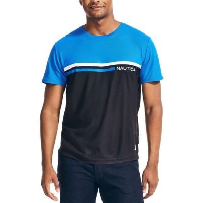ナウティカ メンズ シャツ トップス Men's NavTech Colorblocked T-Shirt