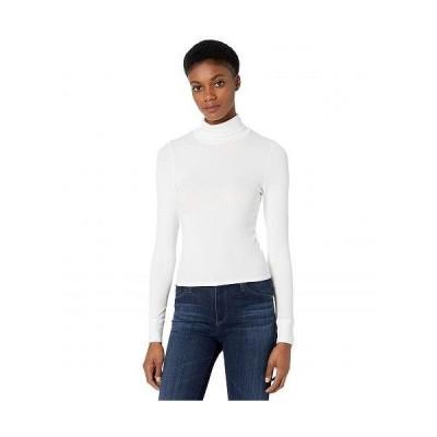 LAmade エルエーメイド レディース 女性用 ファッション Tシャツ Hill 2x1 Modal Stretch Rib Turtleneck - Soft White