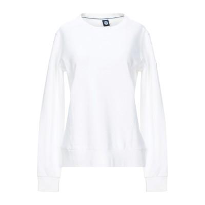 ノースセール NORTH SAILS スウェットシャツ ホワイト XS コットン 100% スウェットシャツ