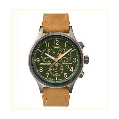 【新品・未使用品】Timex Expedition Scout Chrono Watch - Tan/Green [TW4B044009J]【並行輸入品】