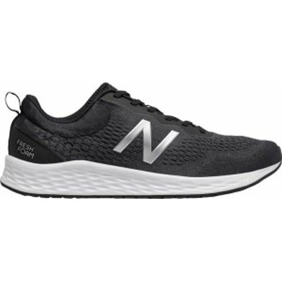 ニューバランス メンズ スニーカー シューズ Men's New Balance Fresh Foam Arishi v3 Running Sneaker Black/Orca/Silver Metallic/Whit