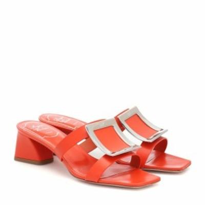 ロジェ ヴィヴィエ Roger Vivier レディース サンダル・ミュール シューズ・靴 Bikiviv leather sandals Juice