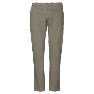 LHU URBAN パンツ ミリタリーグリーン 48 コットン 98% / ポリウレタン 2% パンツ