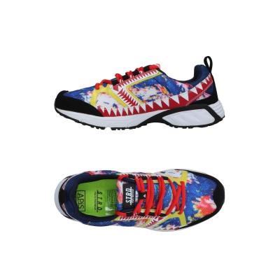 STRD by VOLTA FOOTWEAR スニーカー&テニスシューズ(ローカット) ブルー 43 紡績繊維 / ポリ塩化ビニル / 革 スニーカ