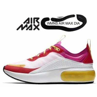 【ナイキ ウィメンズ エアマックス ディア SE】NIKE WMNS AIR MAX DIA SE white/laser fuchsia-ember glow ar7410-102 レディース スニー