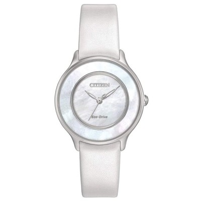 Citizen Eco-Drive EM0381-03D Ladies Mother-of-Pearl White Watch