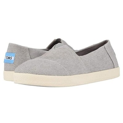 TOMS Avalon レディース スニーカー Drizzle Grey Heavy Canvas