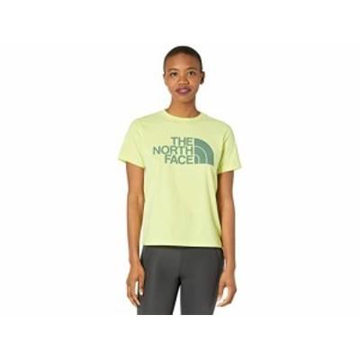 (取寄)ノースフェイス ハーフ ドーム コットン ショート スリーブ ティー The North Face Half Dome Cotton Short Sleeve Tee Pale Lime
