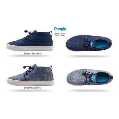 People Footwear The Cypress DENIM SASHIKO ピープル フットウエア スニーカー 靴シューズ