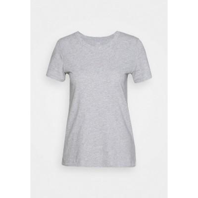 エアリー Tシャツ レディース トップス WEB ONLY CLASSIC FIT TEE - Basic T-shirt - grey