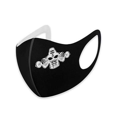 Gorilla Lifting Weightlifting Woメンズ Man Mask Protective Facial Mask Black