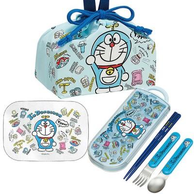 ドラえもん I'm Doraemon アルミお弁当箱 370ml トリオ 巾着セット