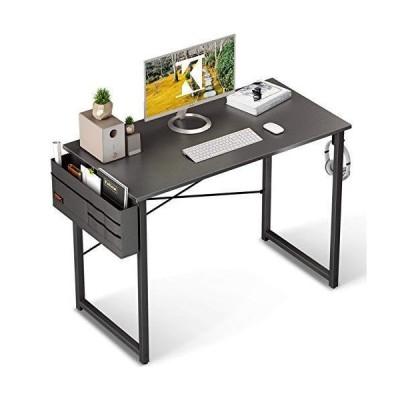 KKL パソコンデスク pcデスク 机 ワークデスク オフィスデスク 収納袋付き 幅100cm×奥行50cm 組立簡単 在宅勤務 パ?