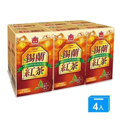 義美錫蘭紅茶250ml*24瓶【愛買】