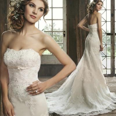 マーメイドドレス ウエディングドレス 安い ロングドレス 結婚式 ブライダル ウェディングドレス 二次会 花嫁 ウエディングマーメイドドレス wedding dress