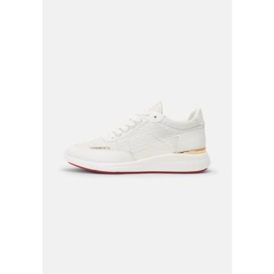 アルド メンズ 靴 シューズ ADALWIN - Trainers - white