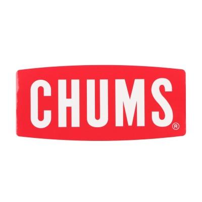 チャムス CHUMS トレッキング 小物 Sticker CHUMS Logo Large CH62-1058 (他)