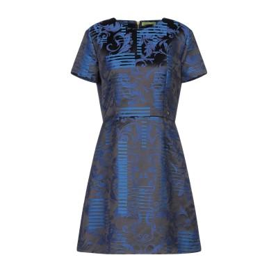 VERSACE JEANS ミニワンピース&ドレス ブラック 42 ポリエステル 52% / ナイロン 48% ミニワンピース&ドレス