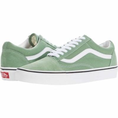 ヴァンズ Vans レディース スニーカー シューズ・靴 Old Skool(TM) Shale Green/True White