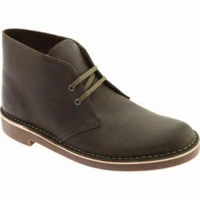 クラークス ブーツ Bushacre 2 Boot Dark Olive Leather