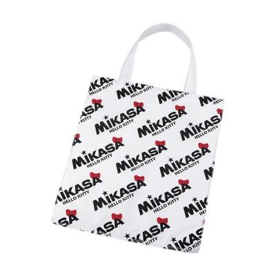 ミカサ(MIKASA) ハローキティ レジャーバッグ 総ロゴ 白 BA21-KT1-W 鞄 小物入れ アウトドア カジュアルバッグ