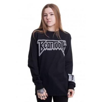 インペリコン Impericon レディース 長袖Tシャツ トップス - B Logo Box - Longsleeve black