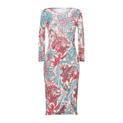 ジャッカ JUCCA ミニワンピース&ドレス ライトピンク 40 レーヨン 100% ミニワンピース&ドレス