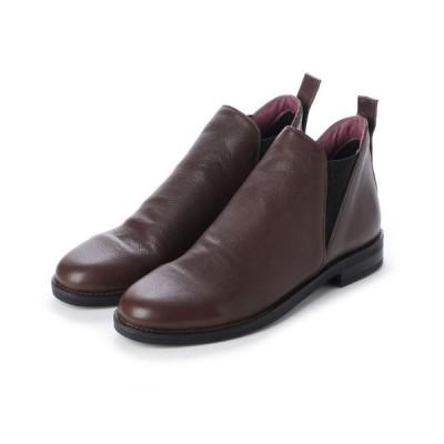 ブーツ bueno / 9P0211 / サイドゴアレザーショートブーツ