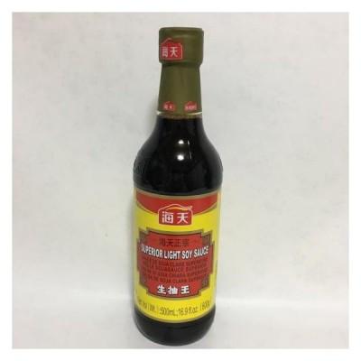海天醤油 生抽王  中国薄口醤油 中華調味料 中華食材 500ml