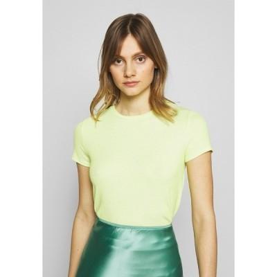 マビ Tシャツ レディース トップス SHORT SLEEVE - Basic T-shirt - sunny lime