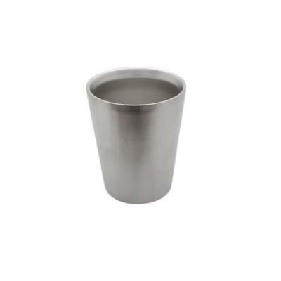 ステンレス タンブラー/カップ 〔330ml 1個〕 真空断熱構造 サテン仕上げ 〔プレゼント 贈り物 ギフト〕