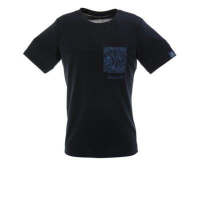 Whole EarthPRINT POCKET tシャツ 半袖 WE21JA26NVY